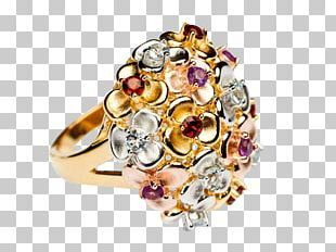 Earring Gemstone Jewellery Gold PNG