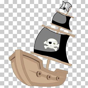 Piracy Cartoon Ship PNG