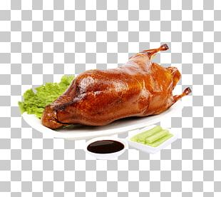 Roast Chicken Peking Duck Roast Goose Barbecue Chicken PNG
