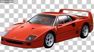 Ferrari F40 LaFerrari Enzo Ferrari Car PNG