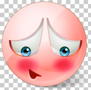 Smiley Emoticon Blushing Computer Icons PNG