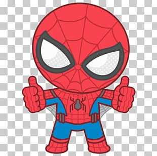 Spider-Man Iron Man Marvel Comics Chibi Drawing PNG