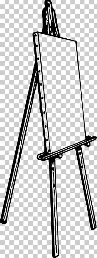 Easel Drawing Artist Painting PNG