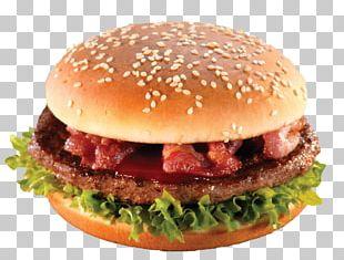 Hamburger Cheeseburger Fast Food Veggie Burger Sandwich PNG