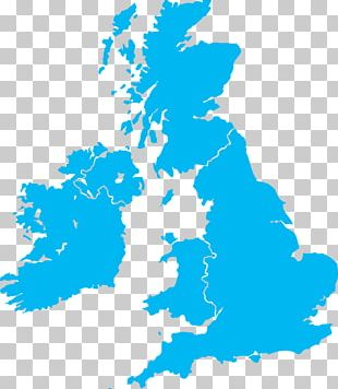 Great Britain British Isles Map PNG