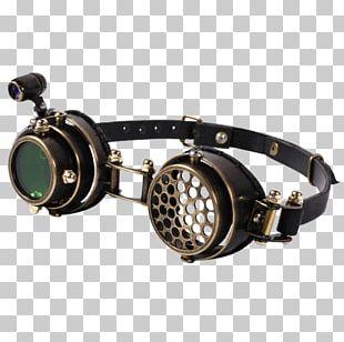 Goggles Aviator Sunglasses Eye Steampunk PNG
