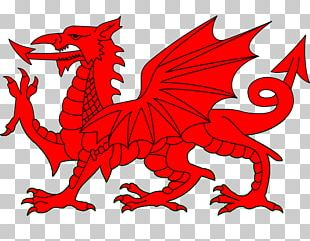 Flag Of Wales Uther Pendragon Welsh Dragon PNG