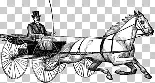 Horse And Buggy Wagon Horse Harnesses Cart Chariot PNG