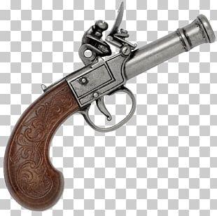 Trigger Flintlock Firearm Revolver Pistol PNG