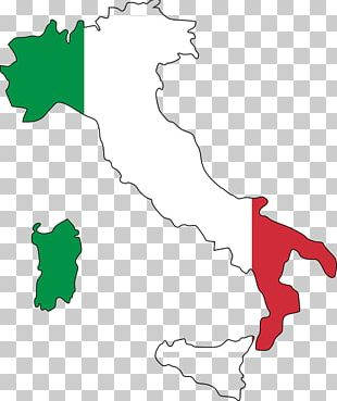 Flag Of Italy Map National Flag PNG