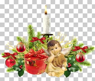Christmas Decoration Candle Christmas Ornament PNG