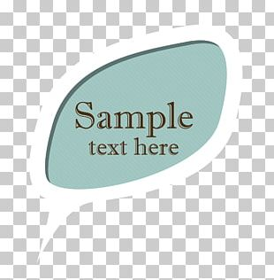 Label Text Logo PNG