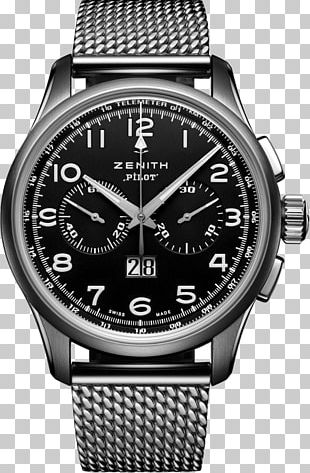 Zenith Watch Chronograph Clock 0506147919 PNG