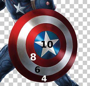 Captain America's Shield Carol Danvers Marvel Cinematic Universe Art PNG
