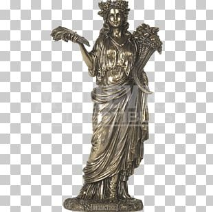 Demeter Hera Greek Mythology Goddess Statue PNG