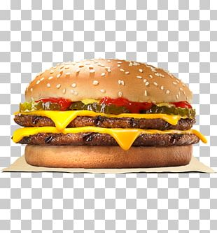 Whopper Hamburger Cheeseburger Big King French Fries PNG