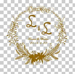 Logo Wedding Invitation Template PNG