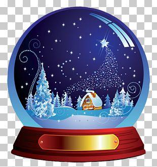 Amazon.com Santa Claus Snow Globe Christmas Holiday PNG
