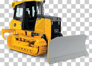 John Deere Bulldozer Tracked Loader Heavy Machinery Architectural Engineering PNG