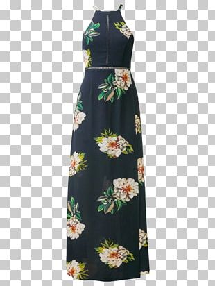 Party Dress Clothing Fashion Flower PNG