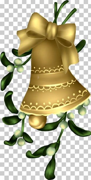 Christmas Green Bell PNG