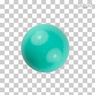 Turquoise Body Jewellery Bead Sphere PNG