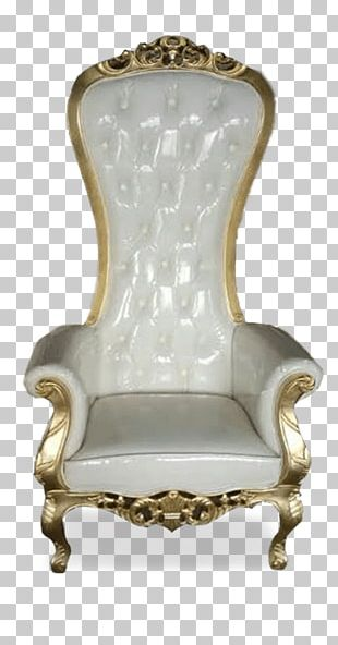 Coronation Chair Bedside Tables Luxe Event Rental PNG
