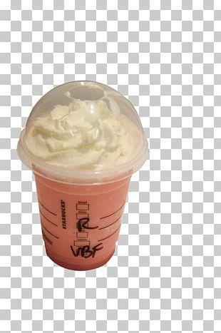 Ice Cream Cotton Candy Coffee Milkshake Starbucks PNG