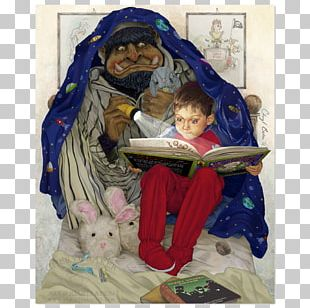 Bedtime Story Narrative Child Art PNG
