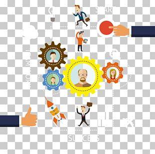 Business Process Organization Flowchart PNG