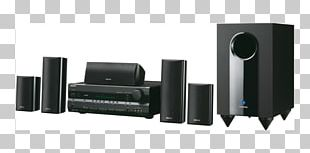Home Theater Systems Onkyo HT S3400 AV Receiver 5.1 Surround Sound PNG