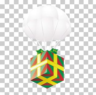 Balloon Gift Parachute Icon PNG