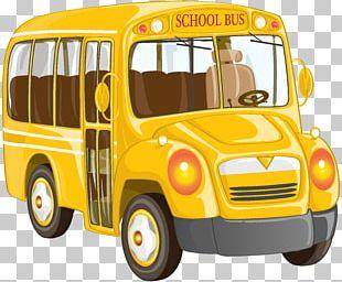 School Bus Van PNG
