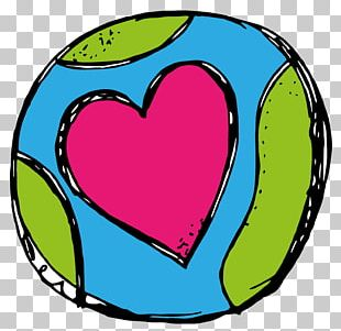 Earth Day Heart PNG
