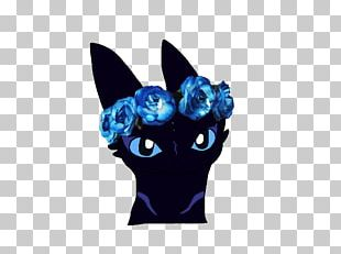 Crown Flower Wreath Blue PNG
