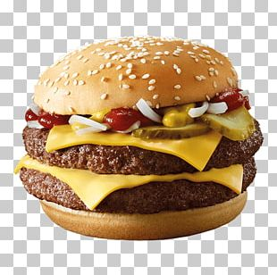 Hamburger McDonald's Quarter Pounder Cheeseburger Whopper Fast Food PNG