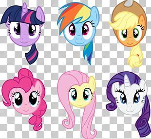 Pinkie Pie Rainbow Dash Applejack Twilight Sparkle Rarity PNG
