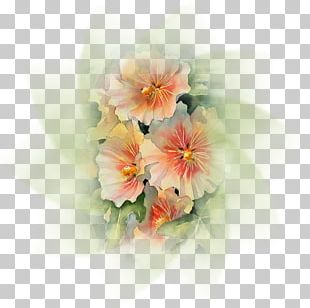 Floral Design Watercolor Painting Art Drawing PNG