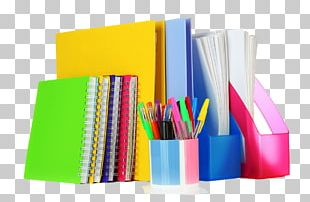 Paper Office Supplies Stationery File Folders PNG