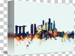 Canvas Print Art Gallery Wrap PNG
