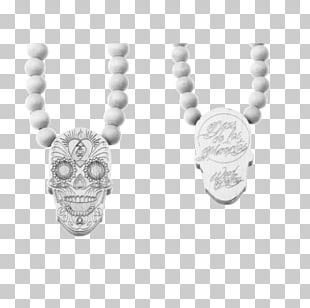 Silver Necklace Body Jewellery Jewelry Design PNG