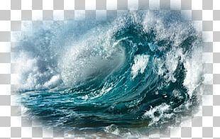 Ocean Wind Wave Sea Storm Desktop PNG