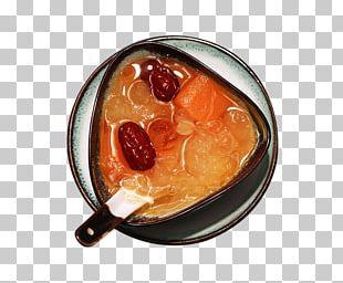 Tong Sui Rock Candy Ching Bo Leung Tremella Fuciformis Peach PNG