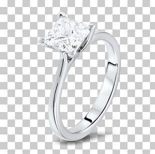 Diamond Wedding Ring Engagement Ring Brilliant PNG
