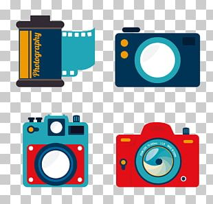 Photographic Film Camera Photography Icon PNG
