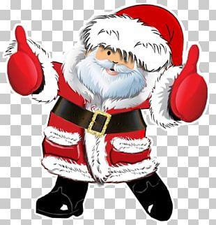 Christmas Santa Claus Gift Xmas PNG