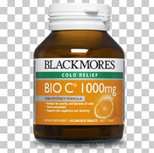 Dietary Supplement Blackmores Vitamin C Tablet PNG