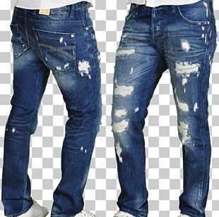 Jeans T-shirt Slim-fit Pants Trousers Denim PNG