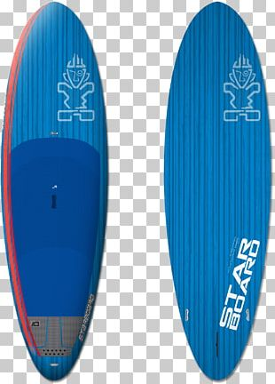 Boeing X-32 Standup Paddleboarding Surfboard Port And Starboard PNG