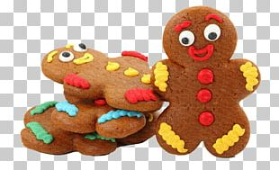 Christmas Dinner Food Gingerbread House Mince Pie PNG